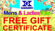gaisano mens and ladies fair FI