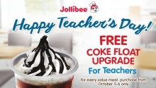 jollibee teachers day
