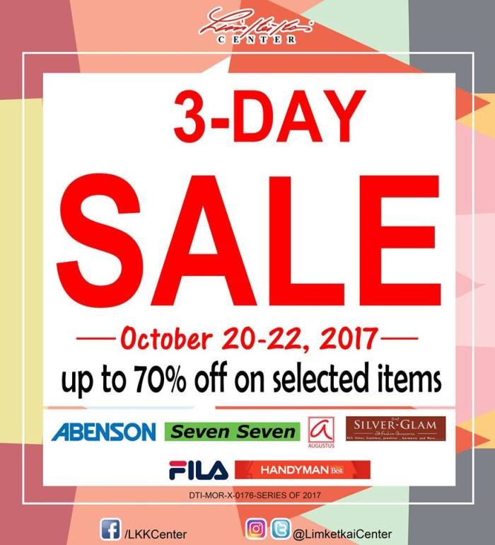 Limketkai 3day Sale