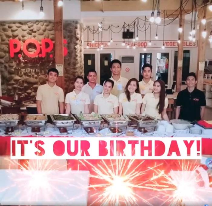 pops 1st anniversary