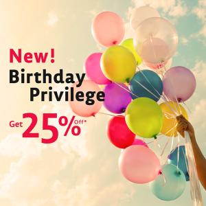 Red Planet Hotels Birthday Privilege