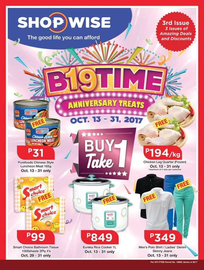 shopwise b19 3rd issue front page