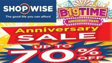 shopwise cdo and cebu anniversary sale FI
