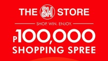 SM store P100k shopping spree FI