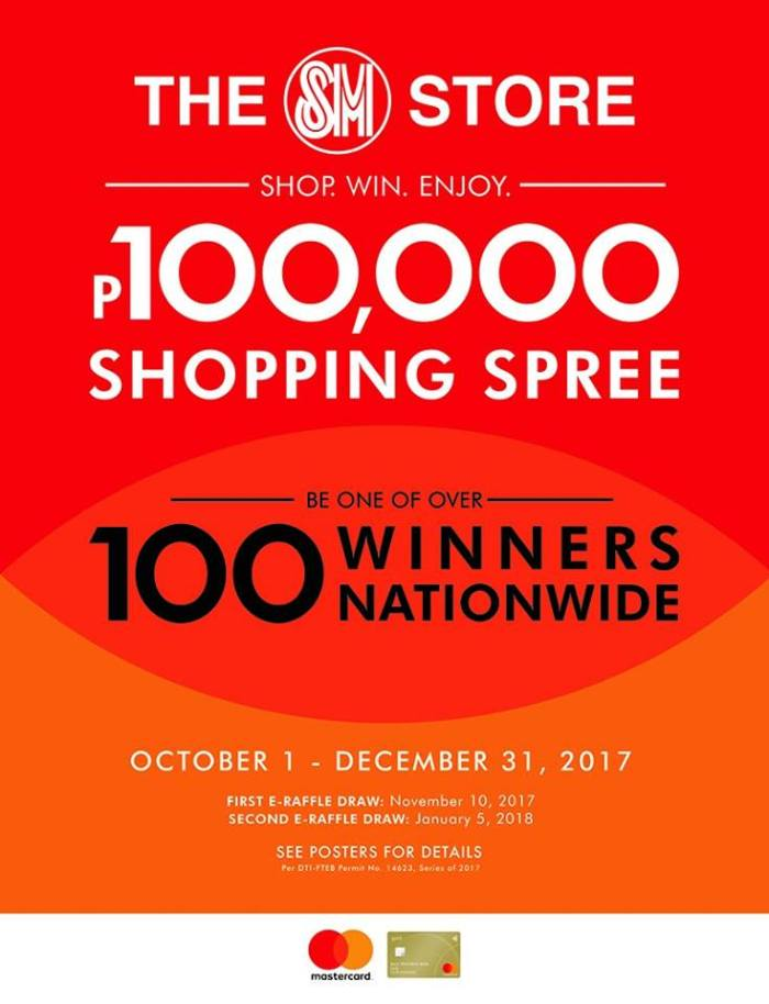 SM store P100k shopping spree