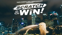 Tapa King Scratch Win Promo featured image