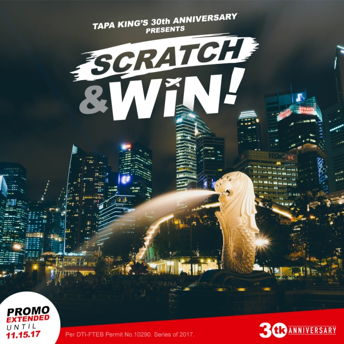 Tapa King Scratch Win Promo Extension