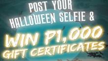 TGI Fridays halloween selfie FI