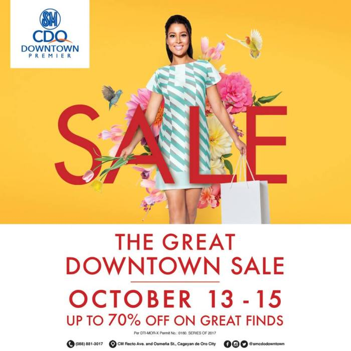 the great downtown sale