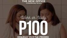 The New Office Coworking Space Holiday Hustle Promo FI