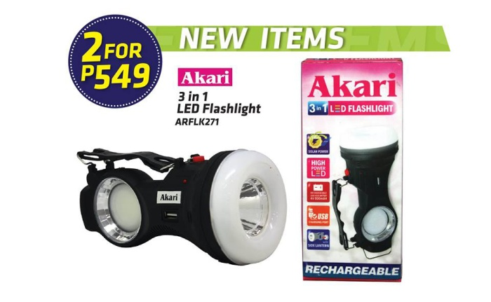 Akari 3-in-1 LED Flashlight 2