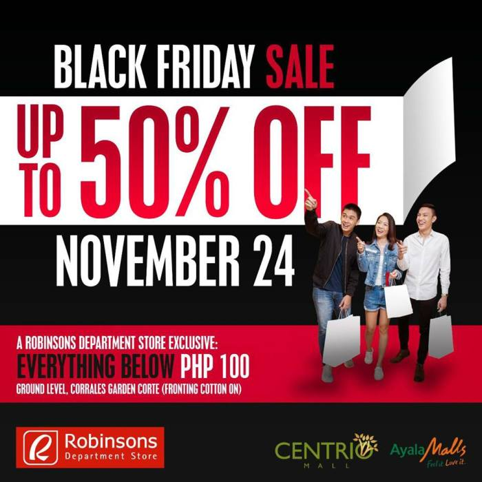 centrio mall black friday sale