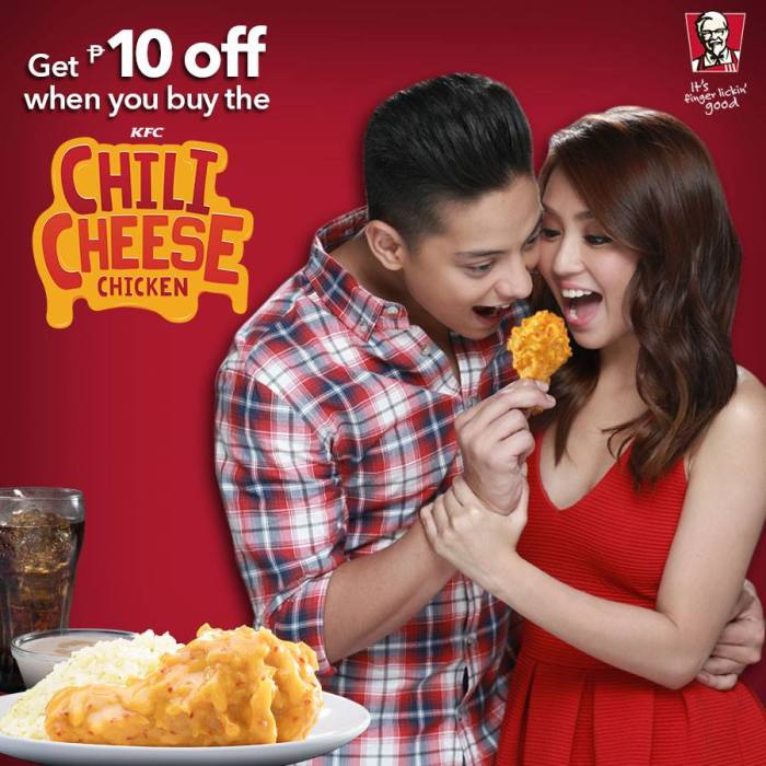 KFC Chili Cheese Long Weekend