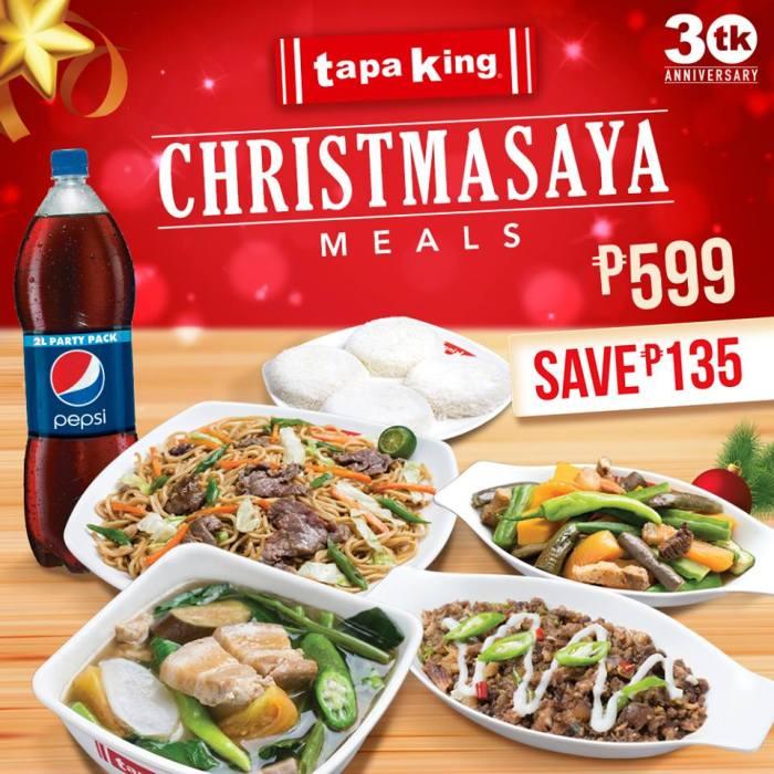 Christmasaya Meals