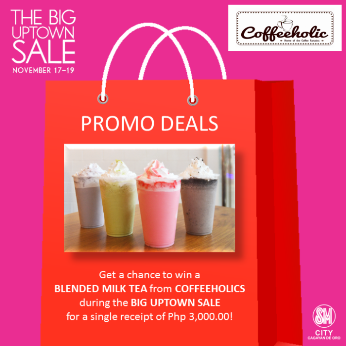coffeeholic SM big uptown sale