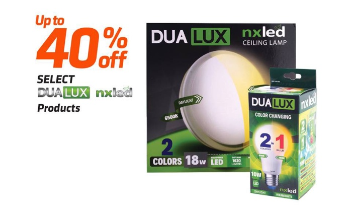 DUALUX products from NXLed