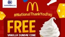 free sundae mcdonalds FI