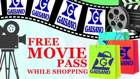 Gaisano free movie pass FI