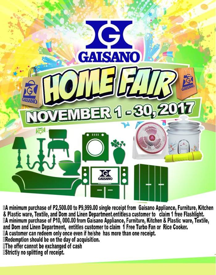 Gaisano home fair