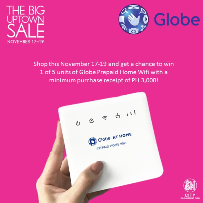 globe SM big uptown sale