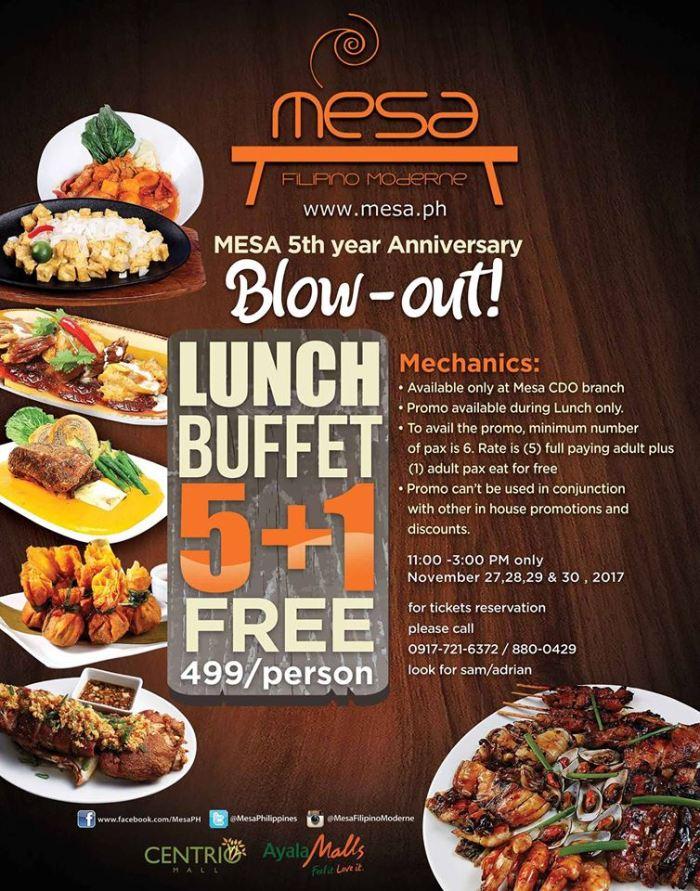 mesa 5th Anniversary