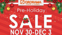 ororama preholiday sale FI