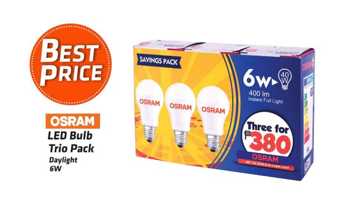 Osram LED Bulb Trio Pack