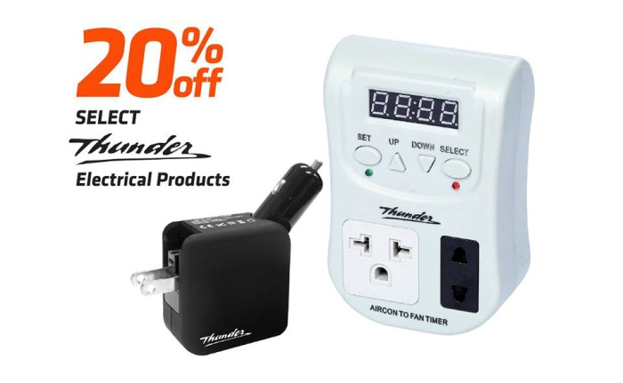 Thunder electrical products