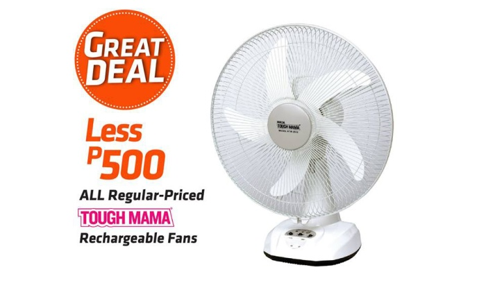 Tough Mama Rechargeable Fans