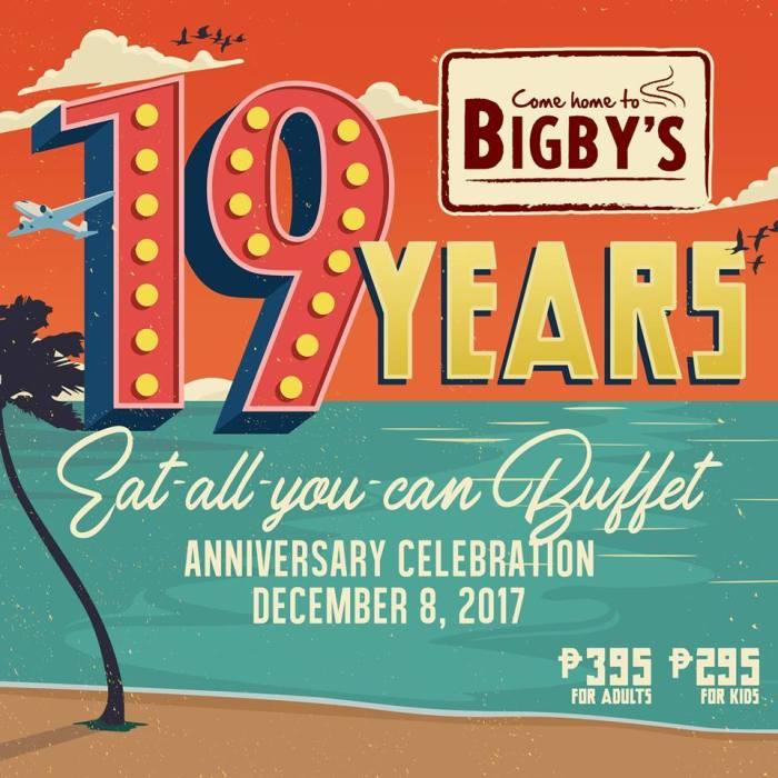 bigby's 19th anniversary