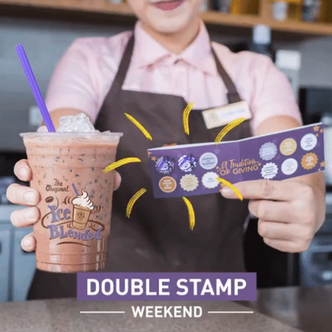 The Coffee Bean & Tea Leaf double stamp weekend