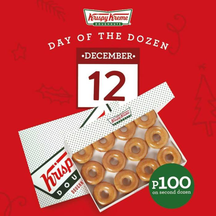 Krispy Kreme Day of The Dozen