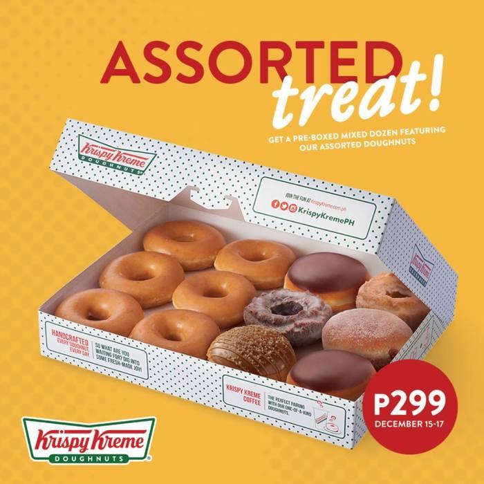 Krispy Kreme Assorted Treat