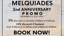 Melquiades 2nd Anniversary Promo FI