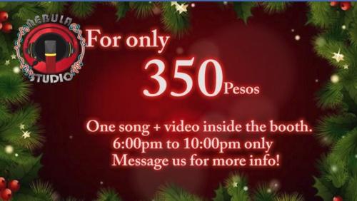 nebula Studio Christmas Promo details