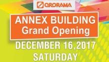 ororama annex building opening FI