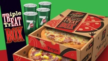 PizzaHut Triple Treat Box FI