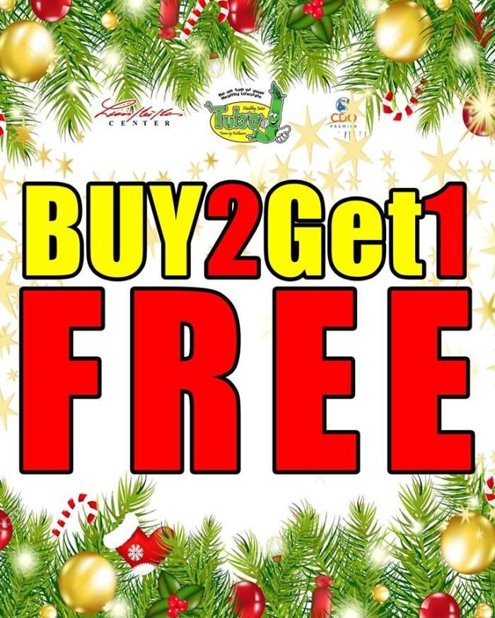 tuboJ Buy 2 Get 1 free