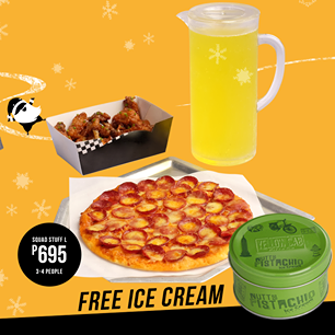Yellow Cab Squad Stuff L free Ice Cream