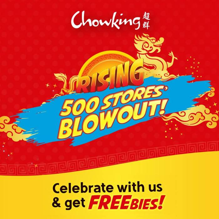 chowking 500 stores blowout