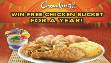 chowking win chicken bucket for a year FI