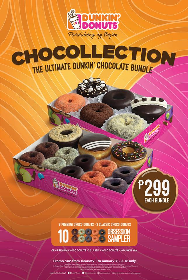 Dunkin Donuts Chocollection Cdo Promos