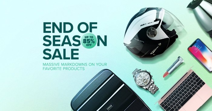 Lazada End Of Season Sale
