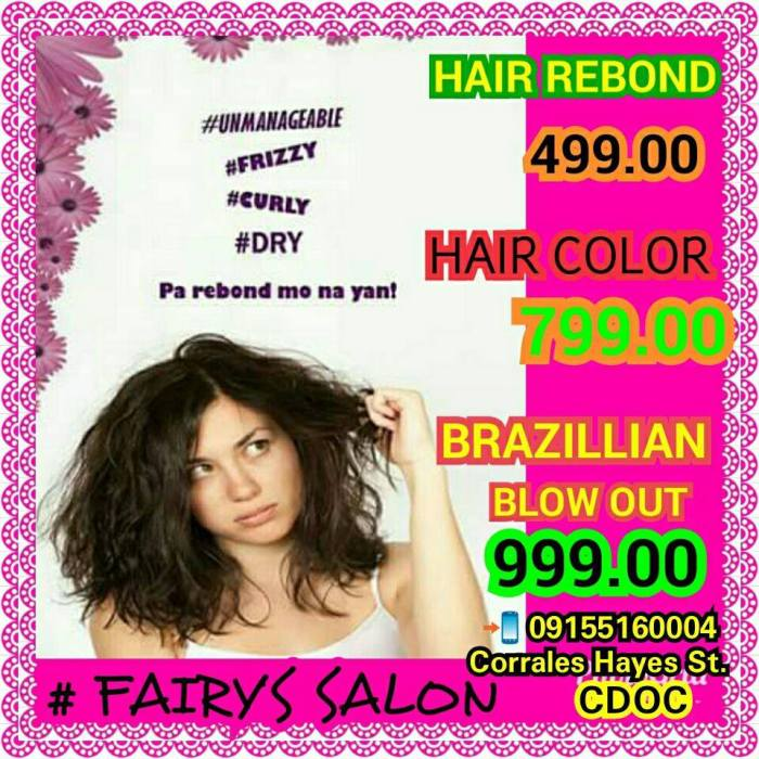 fairys salon promo