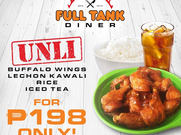full tank diner unlimited