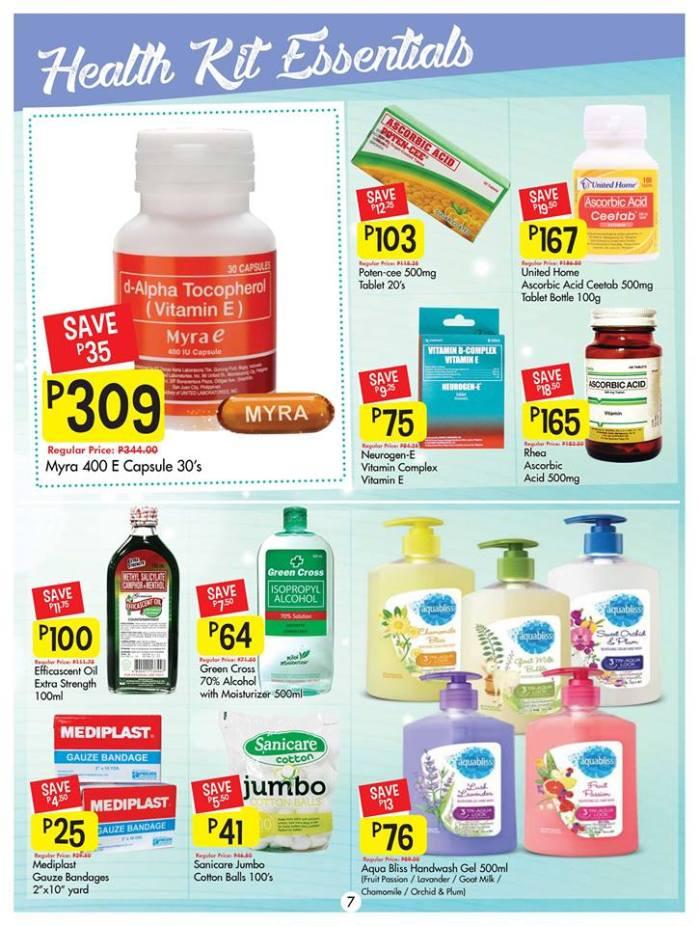 Shopwise health kit essentials