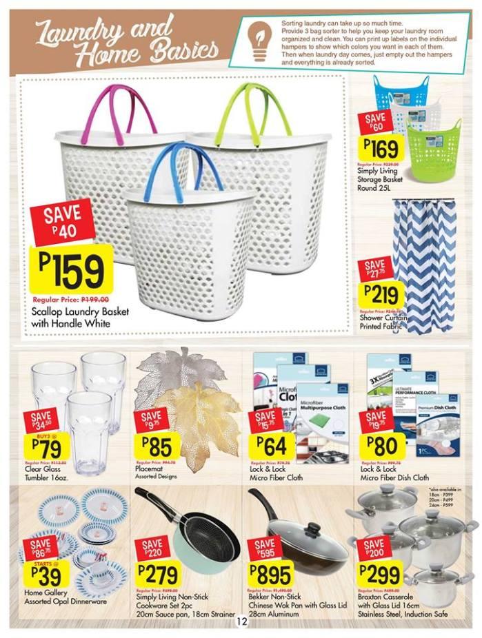 Shopwise laundry and home basics