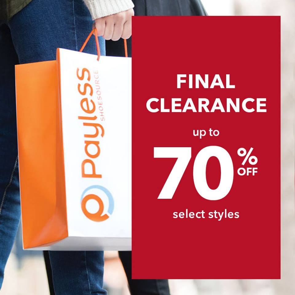 payless clearance return policy