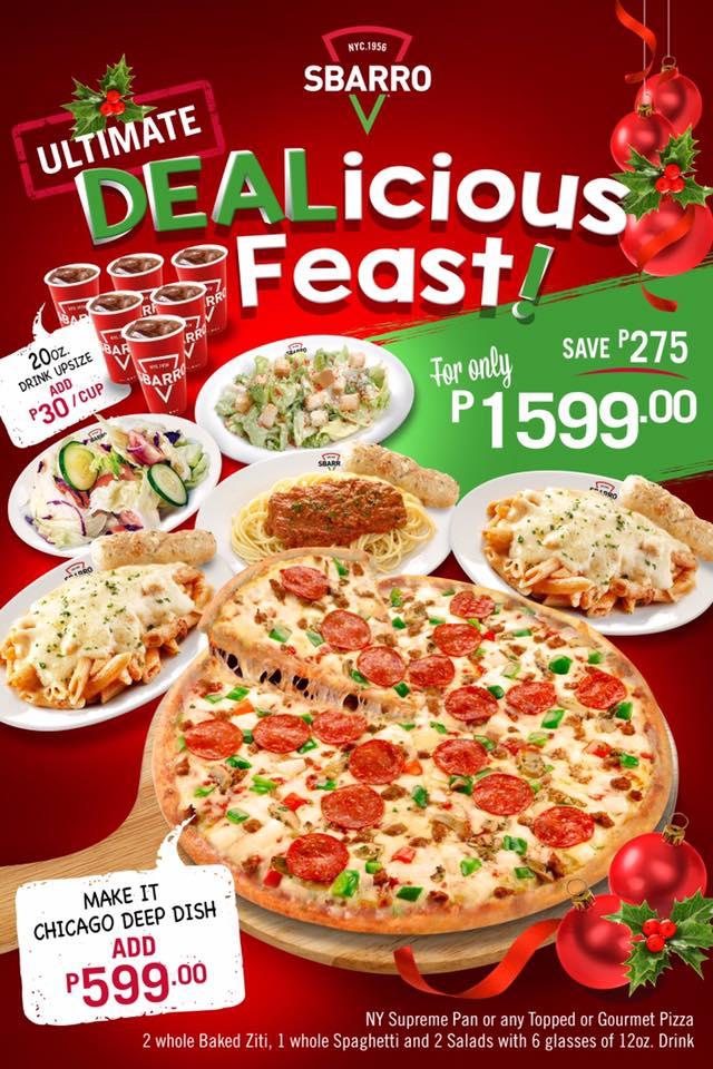 sbrarro dealicious feast
