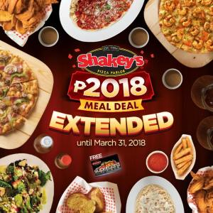 shakeys meal deal extended